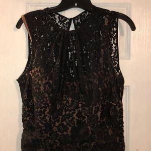Eliza J lace overlay dress Sz 12